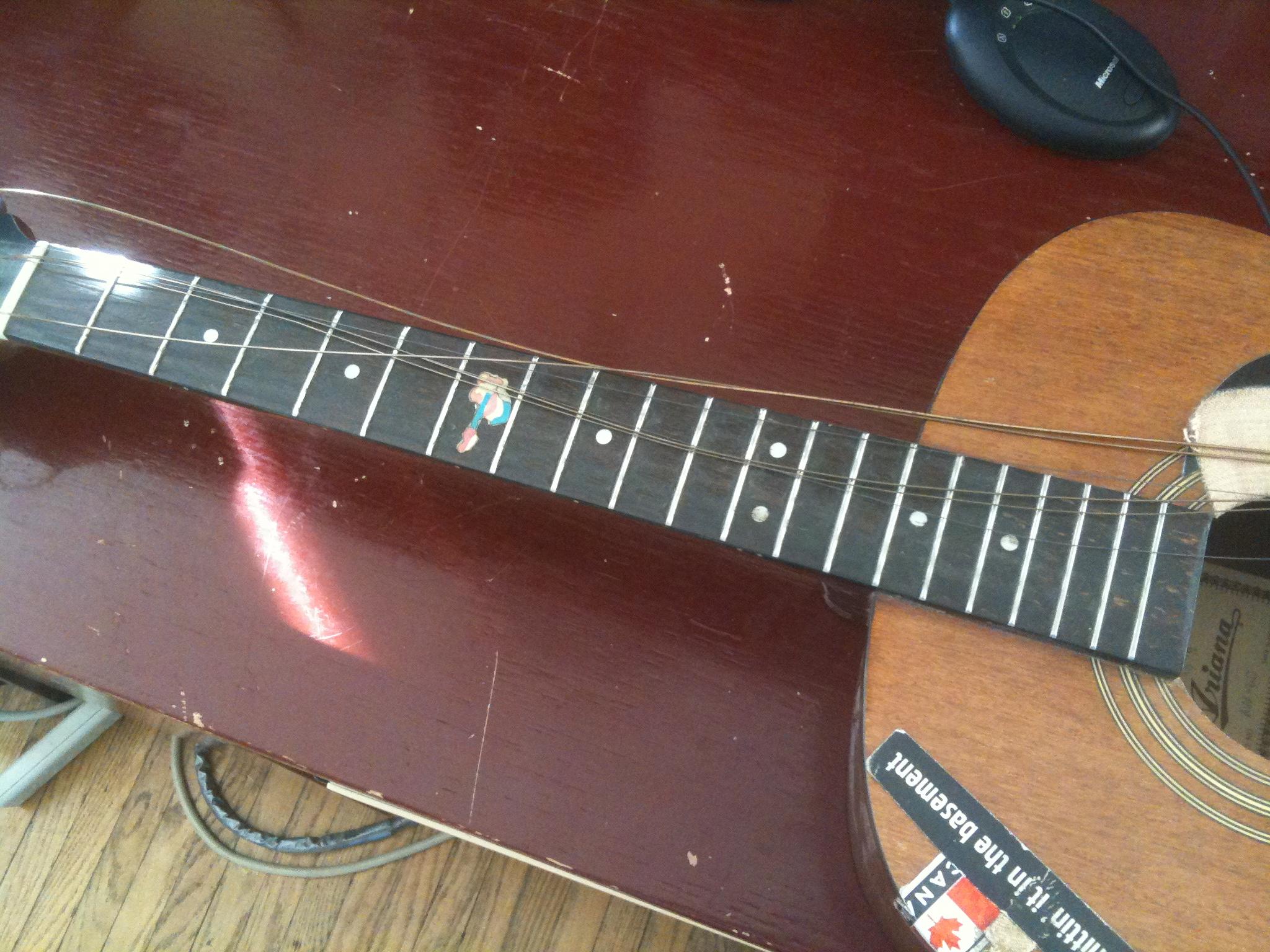 Week 13: DIY Guitar Repair   Weekly Creations